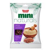 MINI NATURALS VIGOR - QUINUA E AMARANTO - 60G