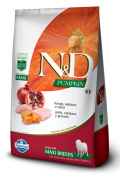 ND PUMPKIN CANINE ADULT FRANGO MAXI 10,1KG