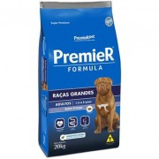 Premier Formula Cães Adultos Raças Grandes 20Kg