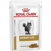 Ração Royal Canin Sachê para Gatos Veterinary Urinary S/O Feline Wet 85g