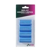 Refil Cata Caca Azul 4 Rolos Petlike
