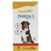 Suplemento Vitamínico Organnact Omega 3 Dog 1000MG Blister 30 Caps