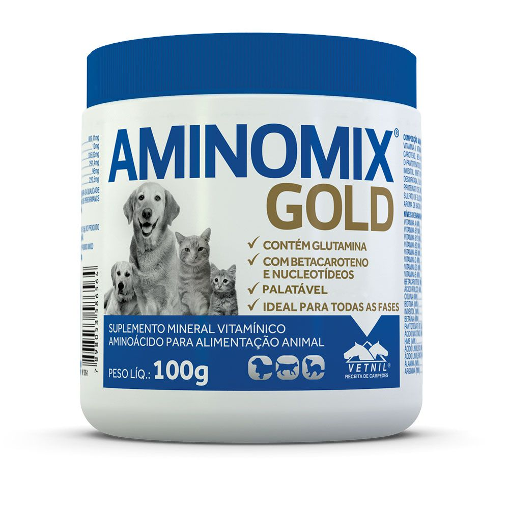 AMINOMIX PET GOLD VETNIL 100G