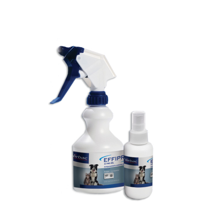 Antipulgas e Carrapatos Effipro Spray Cães e Gatos 100ml