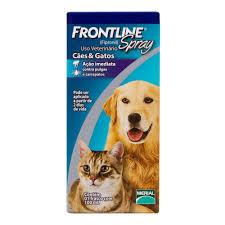 Antipulgas e Carrapatos Frontline Spray para Cães e Gatos 100ml