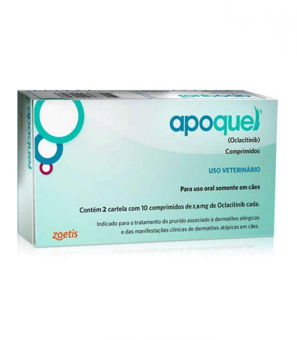 APOQUEL 3,6 MG 20CP