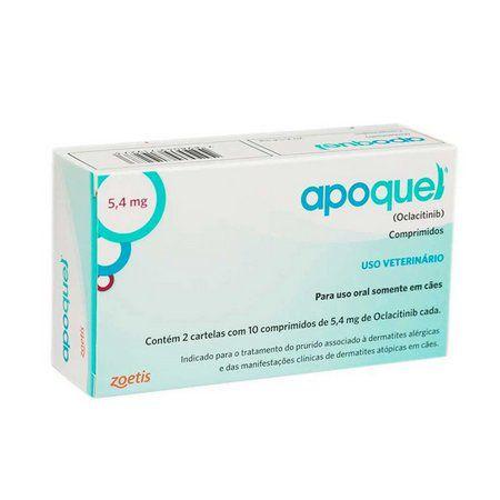 APOQUEL 5,4 MG 20CP