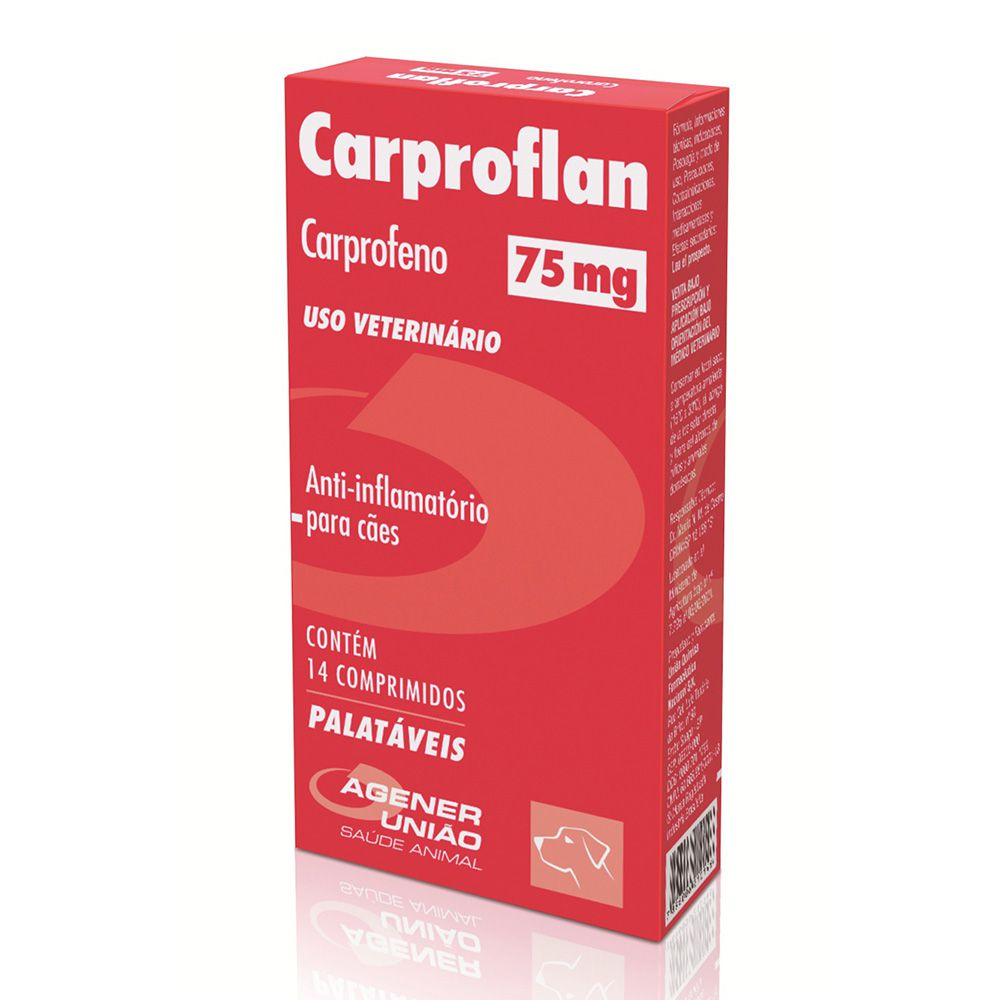 CARPROFLAN 75MG 14CP