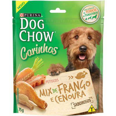 DOG CHOW CARINHOS MIX FRANGO/CENOURA 75G