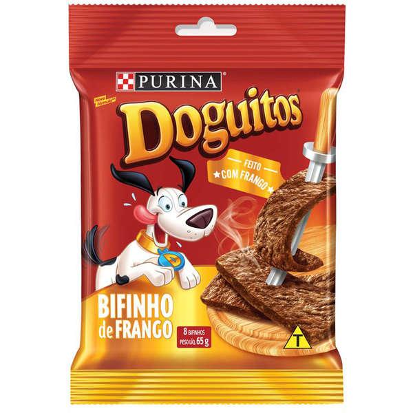Doguitos Bifinho Frango Purina 65g