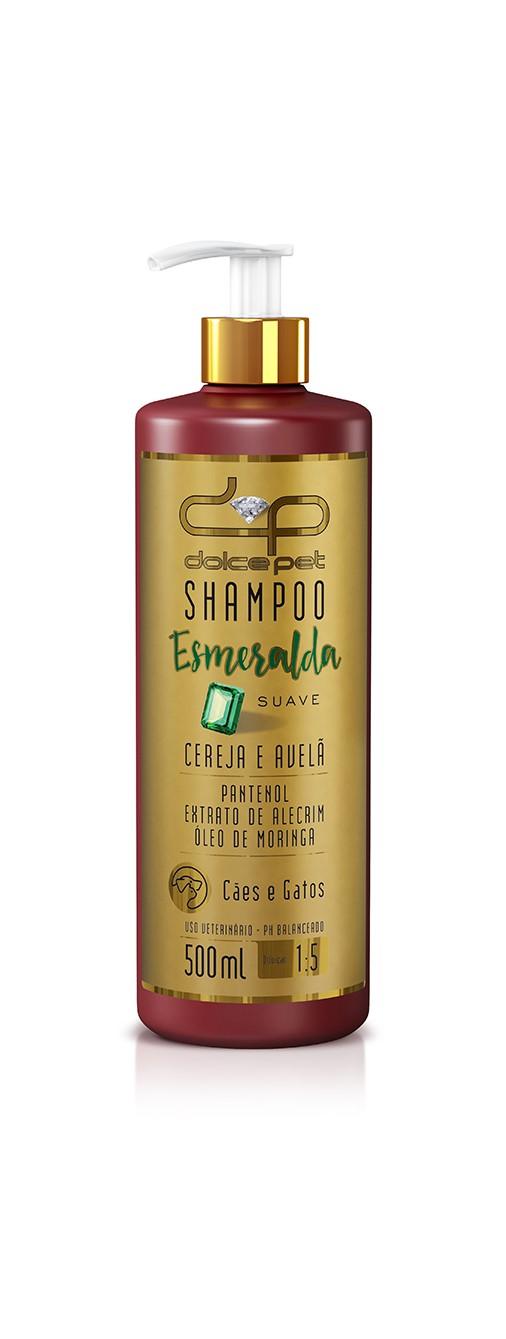Dolce Pet Shampoo Esmeralda Suave Cereja & Avelã 500ml