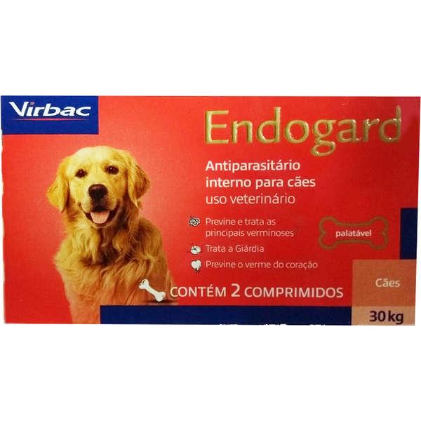 ENDOGARD 30 KG COM 2 COMPRIMIDOS