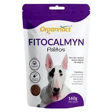 Fitocalmyn Palitos Suplmento Organnact para Caes 160g