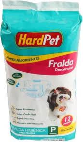 Fralda Higiênica  Hard Pet Fêmea 12unid