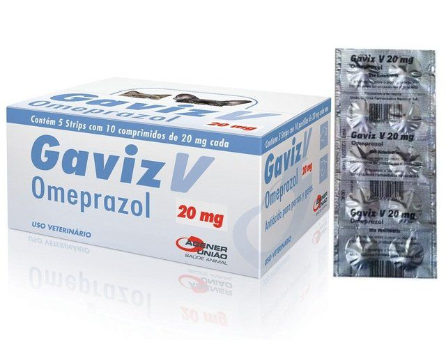 GAVIZ 20MG OMEPRAZOL STRIP COM 10 COMPRIMIDOS