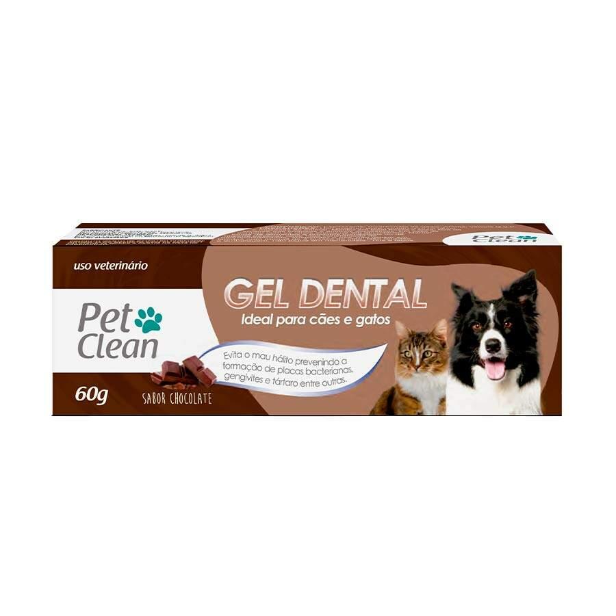 Gel Dental PetClean Chocolate 60g