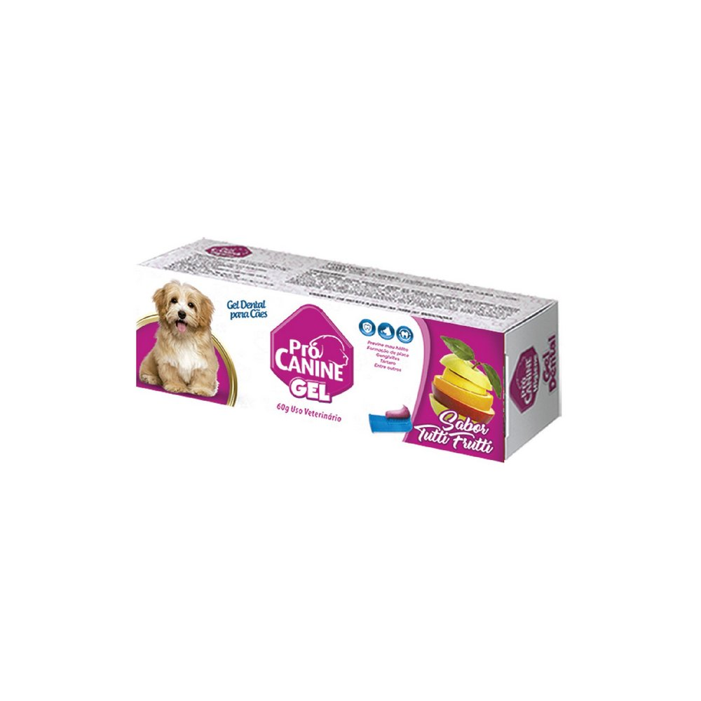 GEL DENTAL PROCANINE TUTTI FRUTI 60G