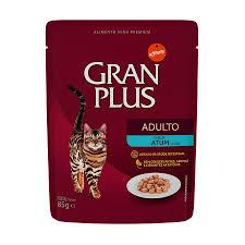 GRANPLUS SACHÊ GATOS ADULTOS FRANGO ATUM 85G