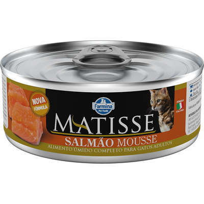 MATISSE CAT WET MOUSSE SALMAO 0,085 KG
