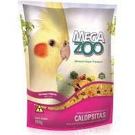 MEGAZOO EXT CALOPSITAS FRUTAS E LEG 350G