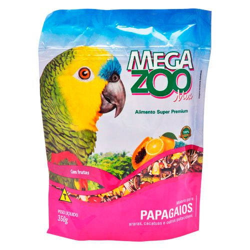MEGAZOO MIX PAPAGAIOS 350G