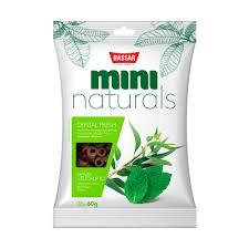 MINI NATURALS DENTAL FRESH - MENTA E EUCALIPTO - 60G