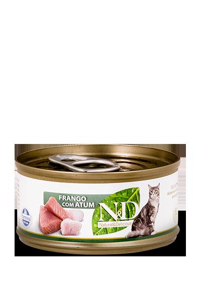 ND Feline Úmida Frango com Atum 70G