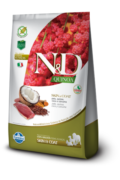 ND QUINOA CANINE ADULT SKIN PATO