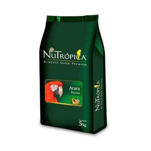 NUTROPICA ARARAS COM FRUTAS 5KG
