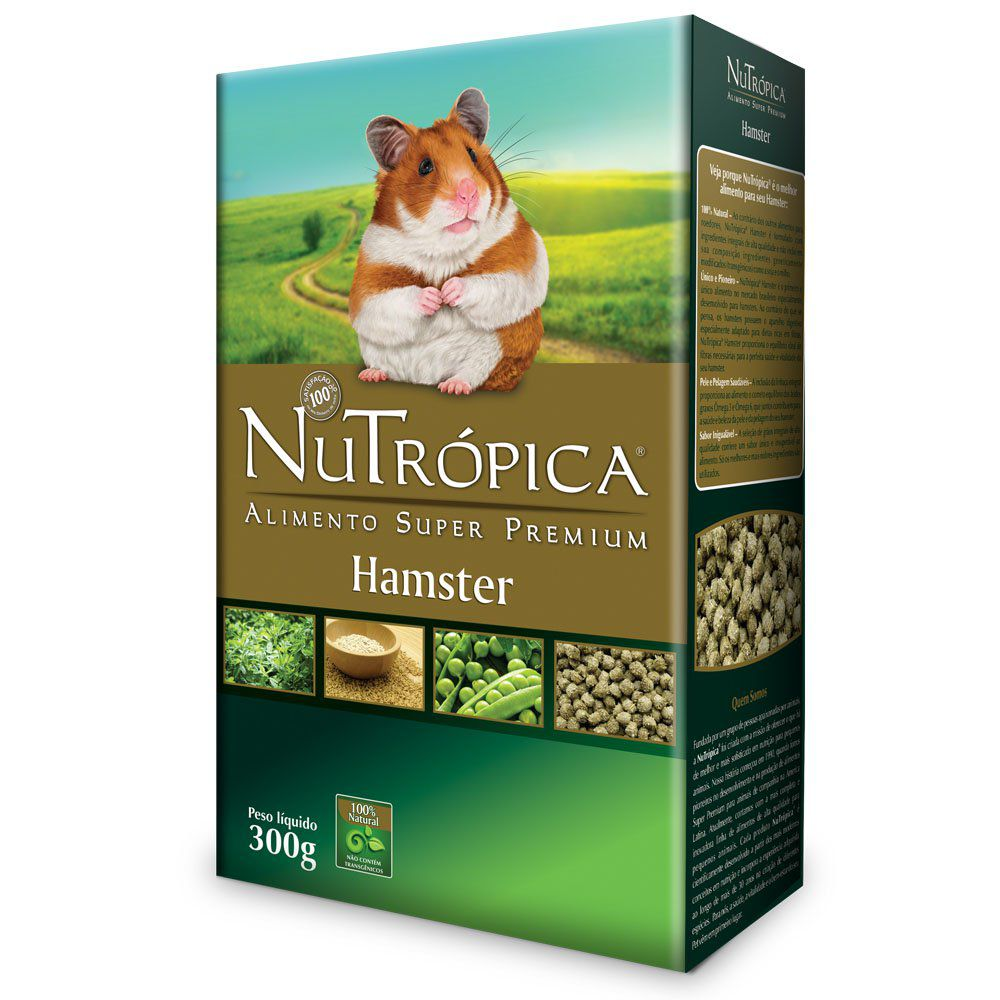 NUTROPICA HAMSTER NATURAL 300G