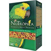 NUTROPICA PAPAGAIOS COM FRUTAS 300G