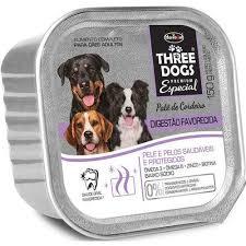 THREE DOGS PATÊ DIGESTÃO FAVORECIDA 150G