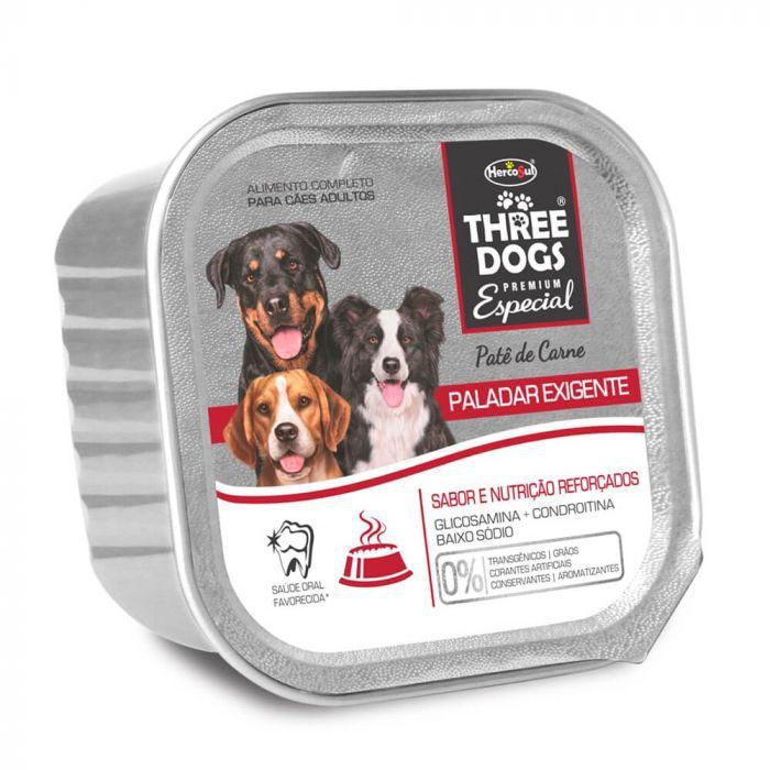 PATE THREE DOGS PALADAR EXIGENTE 150G