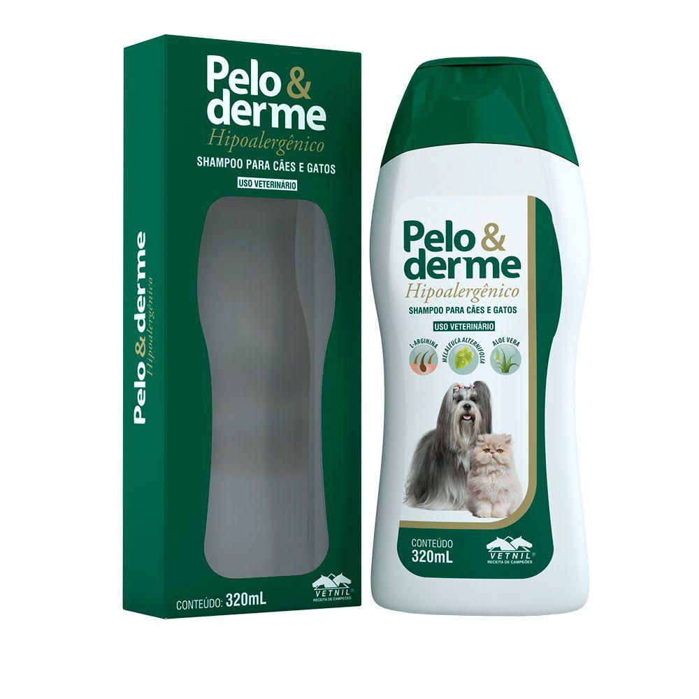 PELO & DERME HIPOALERGICO 320ML SHAMPOO