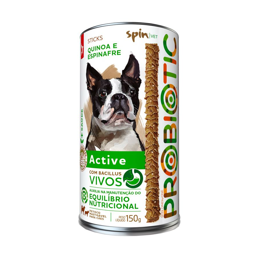 PETISCO PROBIOTICO SPINPET ACTIVE 150 G