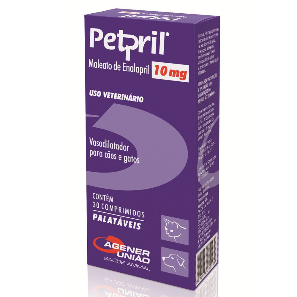 PETPRIL 10MG 30CP