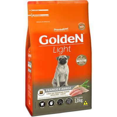 Ração Golden Formula Cães Adultos Light Mini Bits Frango e Arroz
