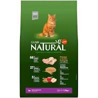 Ração Guabi Natural Gato Adulto Frango e Arroz