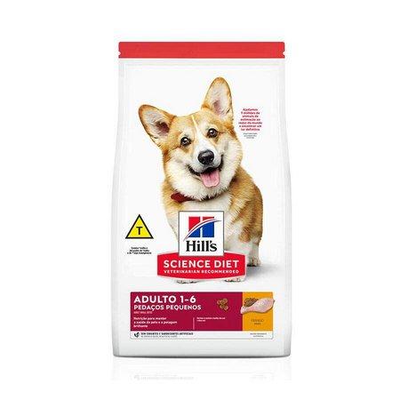 Ração Hills Cães Adultos 1-6 Pedaços pequenos 2,4kg