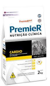 RAÇÃO PREMIER NUTRIÇÃO CLÍNICA CÃES ADULTOS CARDIO