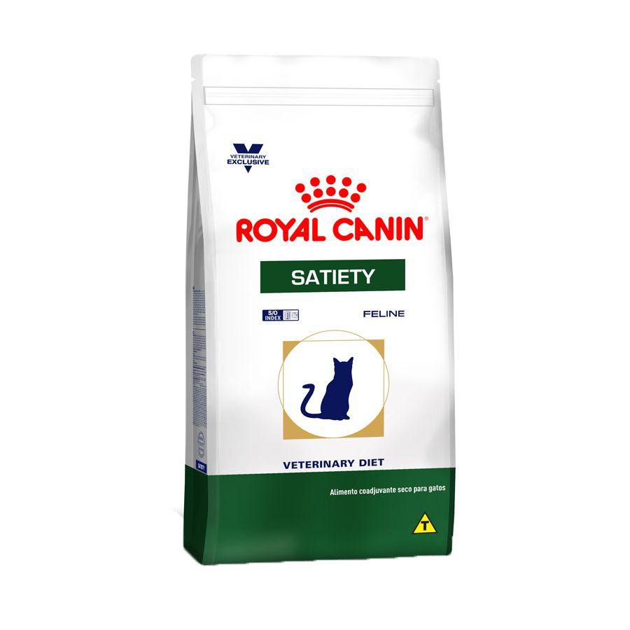 RAÇÃO ROYAL CANIN FELINE VETERINARY DIET SATIETY PARA GATOS OBESOS - 1,5KG