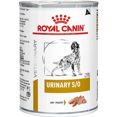 Ração Royal Canin Lata Canine Veterinary Diet Urinary S/O 410g
