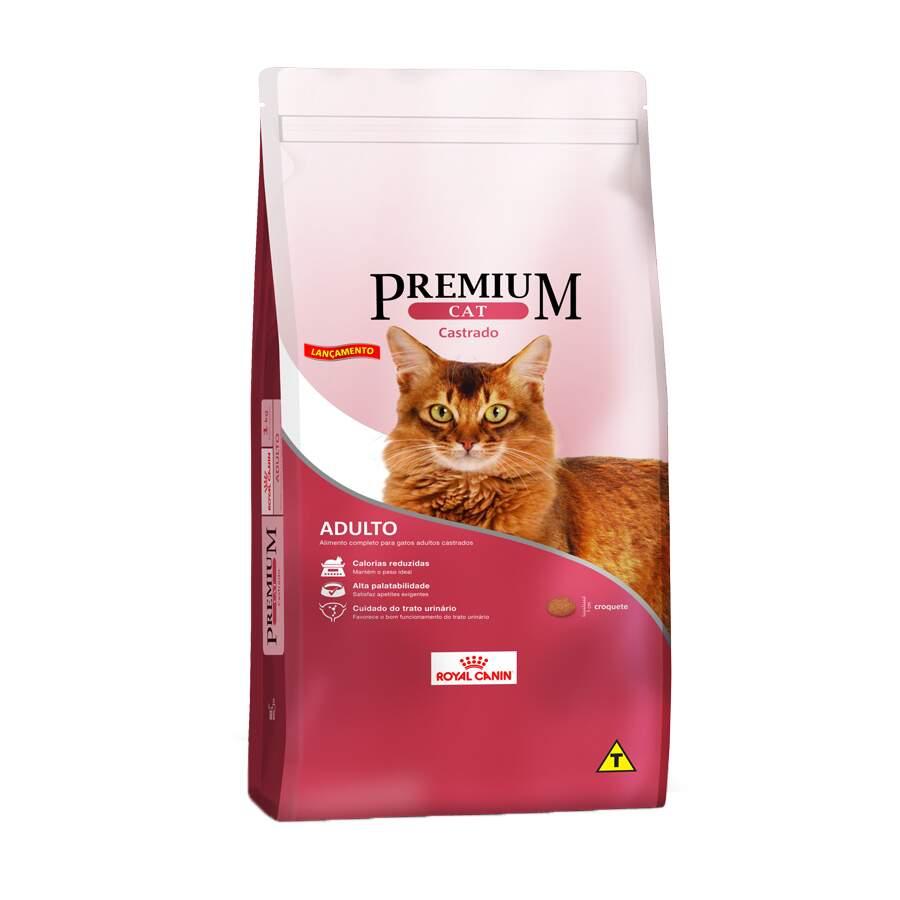 Ração Royal Canin Premium  Cat  Castrado 10,1kg