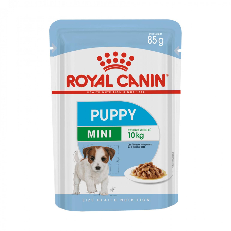 Ração Royal Canin Úmida Puppy para Cães Filhotes Raças Pequenas Wet 85g