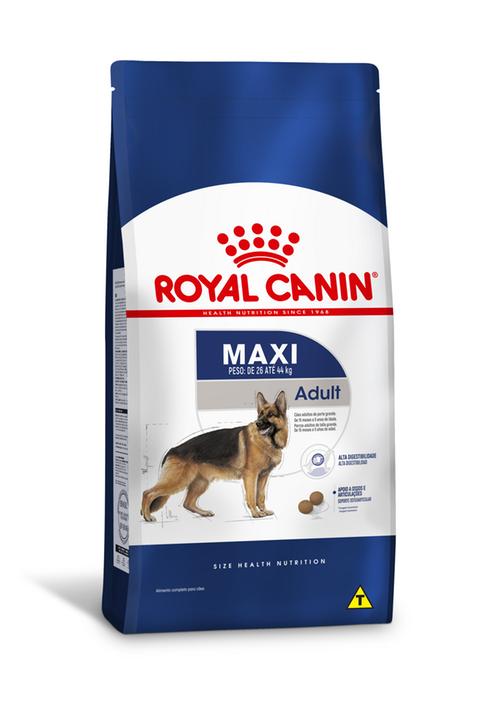 RAÇÃO ROYAL CANINE MAXI ADULT
