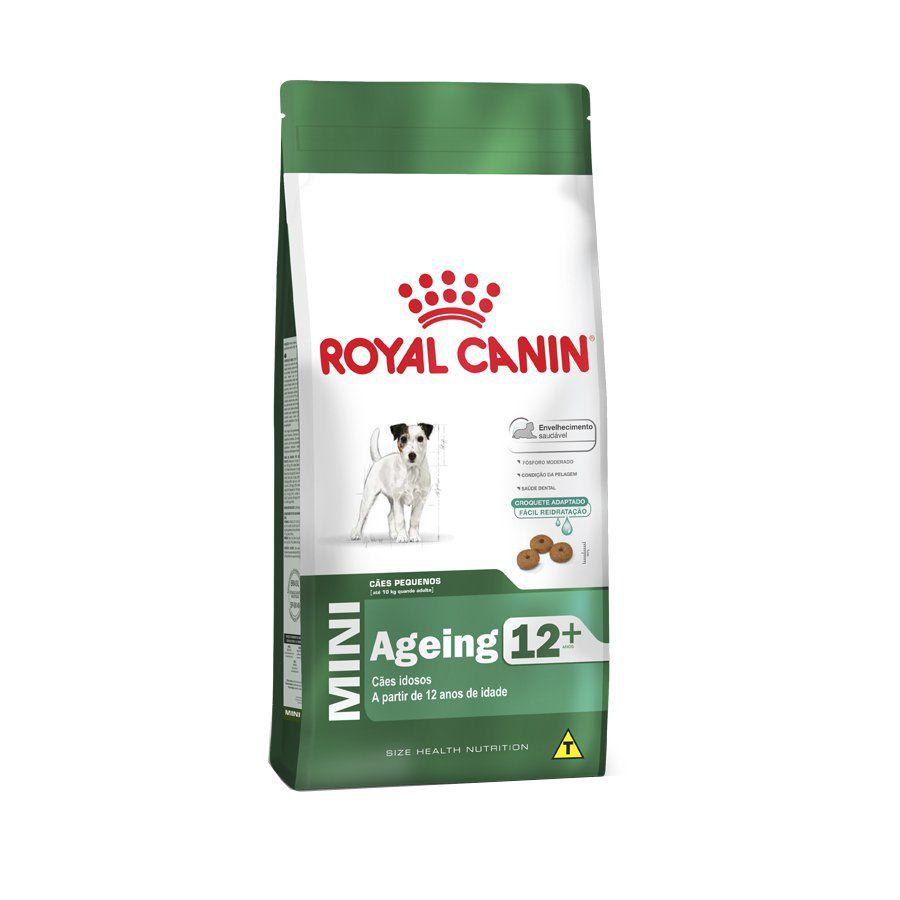 RAÇÃO ROYAL CANINE MINI AGEING 12+