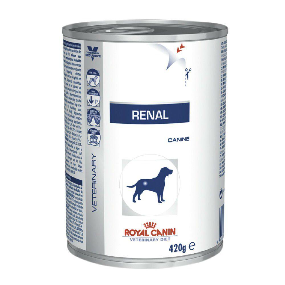RAÇÃO ROYAL CANINE RENAL WET 0,410 G