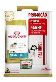 RAÇÃO ROYAL CANINE SHIH TZU ADULTO PROMOÇÃO 2019