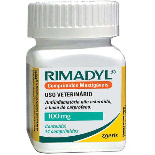 RIMADYL 100MG FR 14 CP