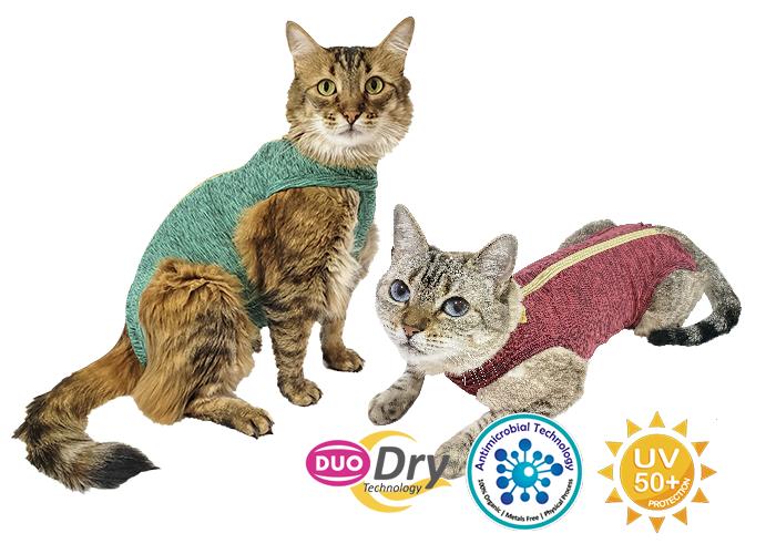 Roupa Pós-cirúrgica Gatos Duo Dry Nº 1 Pet Med